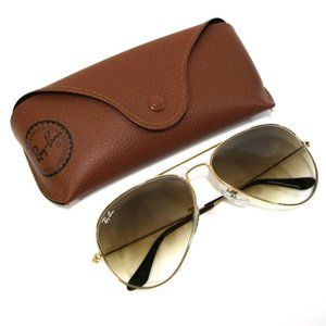 Ray-ban Sunglasses 3025 Gold Frame with Brown Lens